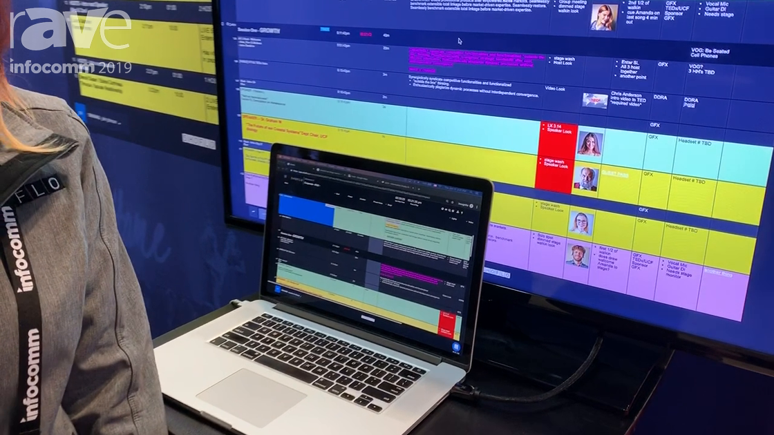 InfoComm 2019: Shoflo Demos Event Management Software Realtime Collaborative Workspace
