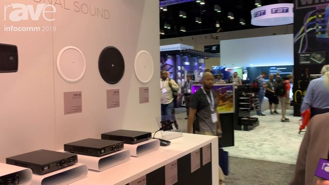 InfoComm 2019: RCF Shows the CMR Series Ceiling Speakers, WMR Series Wall-Mounted Speakers