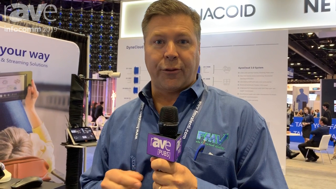 InfoComm 2019: Reach Shows the Bee8 Three-Input Appliance for Encoding, Recording and Streaming