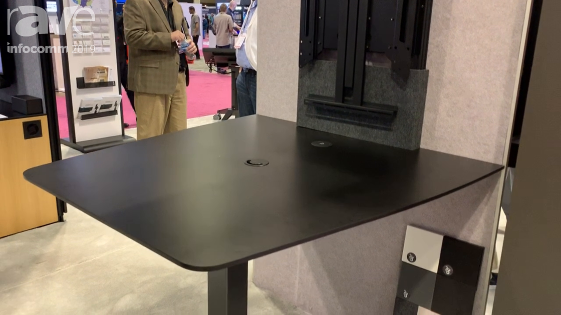 InfoComm 2019: Salamander Designs Unveils the Unifi Huddle Lite Standing Huddle Desk
