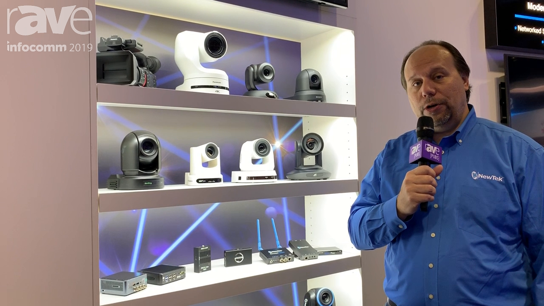 InfoComm 2019: NewTek Showcases the NDI Cameras and Encoders