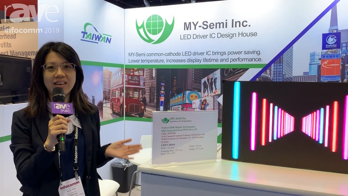 InfoComm 2019: MY-Semi Inc. Is an LED Driver IC Design House