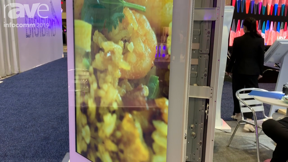 InfoComm 2019: Shenzhen RCstars Shows Off Its 55-Inch Window Display Kiosk With PCAP Touch