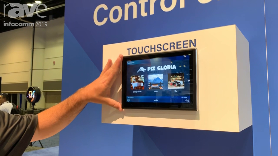 InfoComm 2019: Universal Remote Control Shows Custom Interfaces for Touch Panels