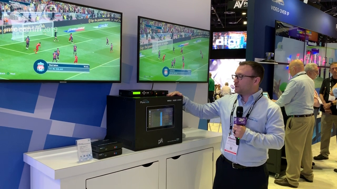 InfoComm 2019: Purelink Intros Media Axis Matrix Switching/Distribution System With Fast Switching