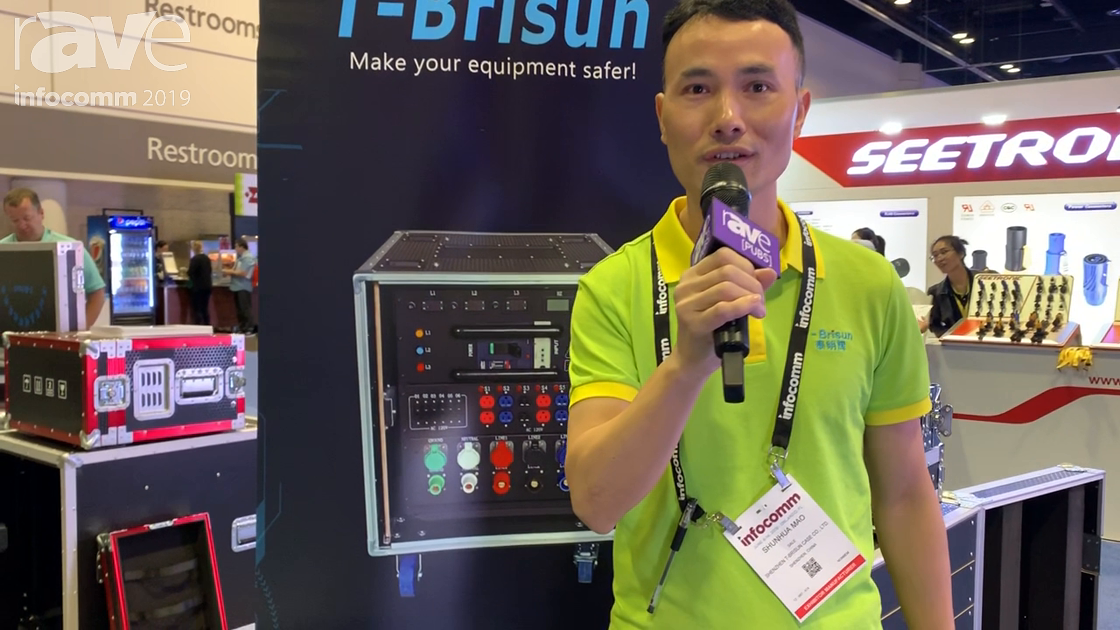 InfoComm 2019: Shenzhen Features Its T-Brisun Trunk Case for Rental and Staging