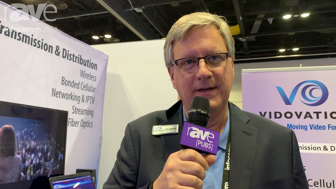 InfoComm 2019: VidOvation Corporation Launches the VidoLink Reacher 1500 Wireless Camera Link