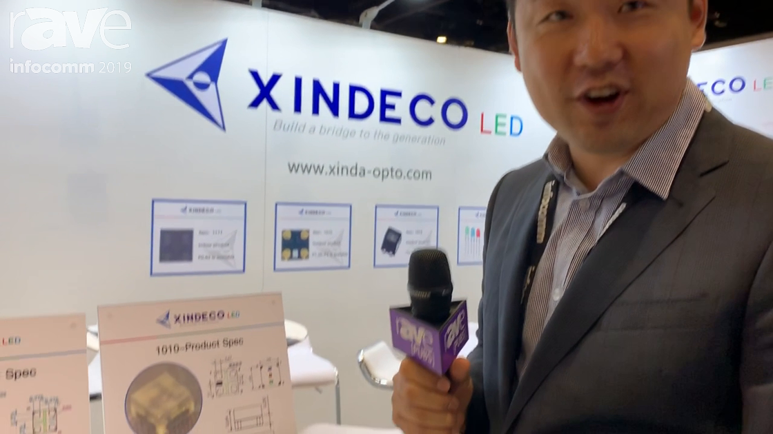 InfoComm 2019: XINDECO LED Showcases Its 1010 LED Packaging