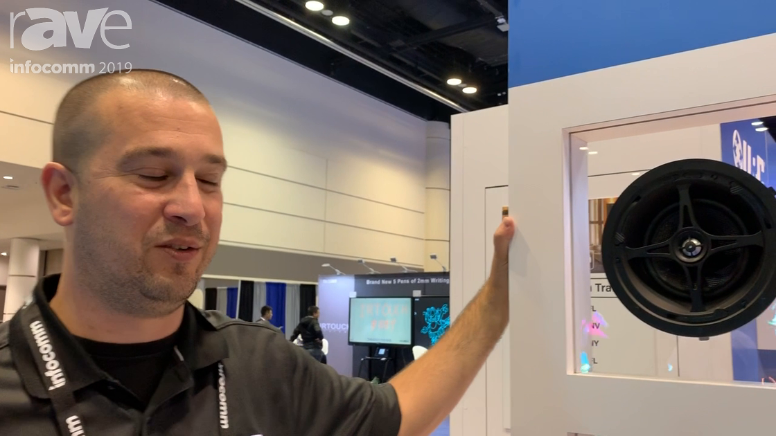 InfoComm 2019: Universal Remote Control Demos Its Tool-less Mounting System for In-Wall Speakers