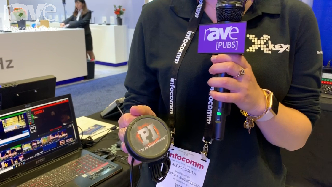 InfoComm 2019: P.I. Engineering's Xkeys Intros One Button, an Industrial One-Button Switch