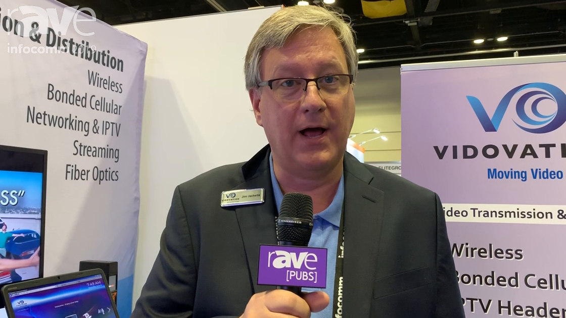 InfoComm 2019: VidOvation Corporation Shows Vidovation TV In-House IPTV and Digital Signage System