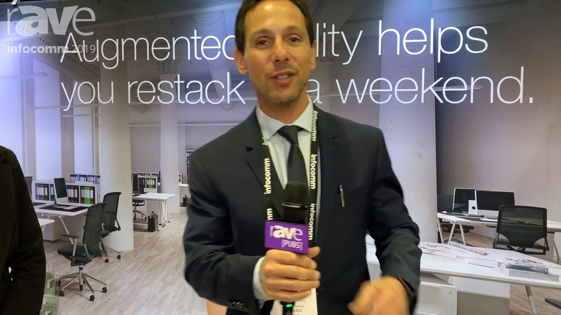 InfoComm 2019: FreeAxez Demos Its Gridd All-Steel Modular Cable Distribution System
