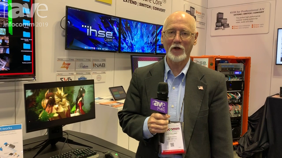 InfoComm 2019: IHSE USA Intros the New Draco Ultra 240 KVM High Frame Rate Extender for Esports