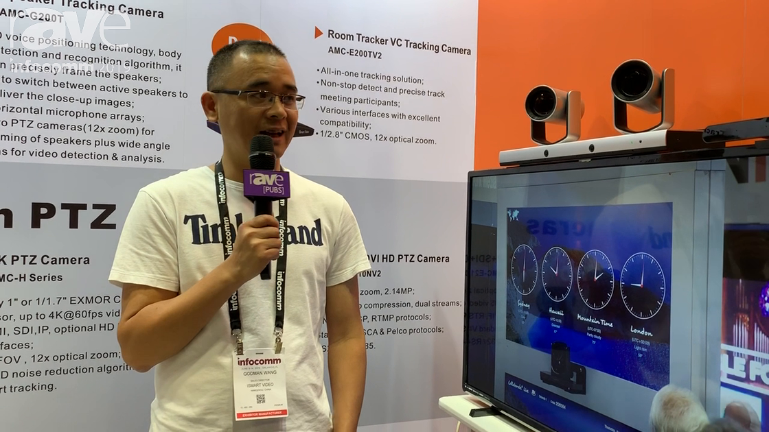 InfoComm 2019: ISmart Video Talks About Its Speaker Tracking PTZ Camera for Videoconferencing