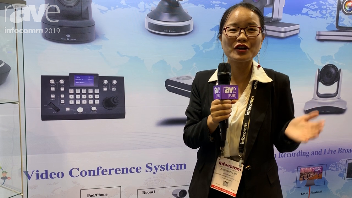 InfoComm 2019: Kato Vision Features a 4K PTZ Videoconferencing Camera
