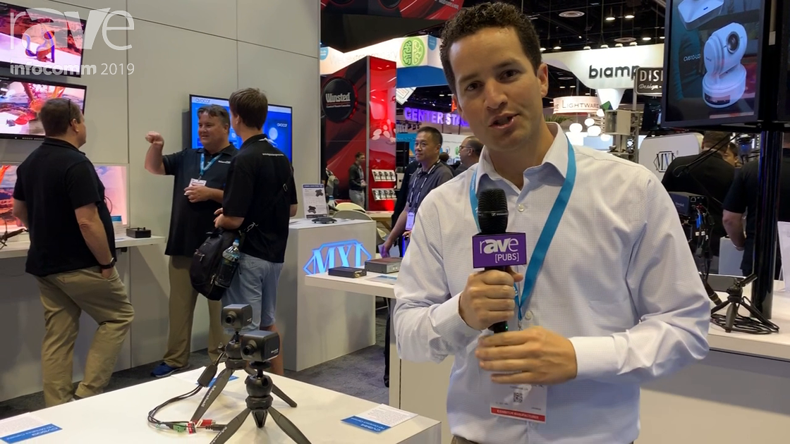 InfoComm 2019: Marshall Electronics Shows CV506 HD Miniature Camera, With 30 Percent Larger Sensor