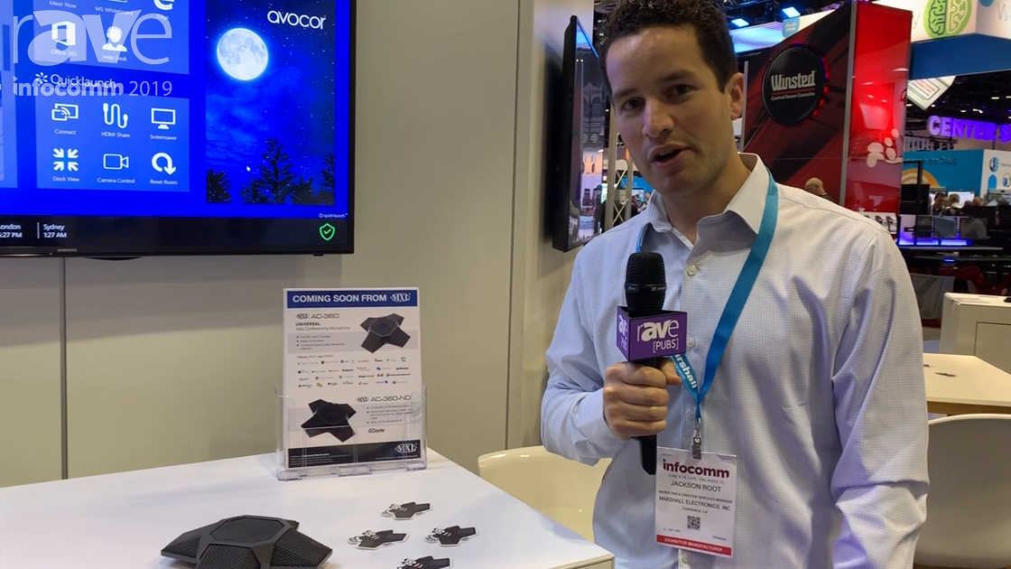 InfoComm 2019: MXL Microphones Shows Off the AC-360 Universal Microphone for Audioconferencing
