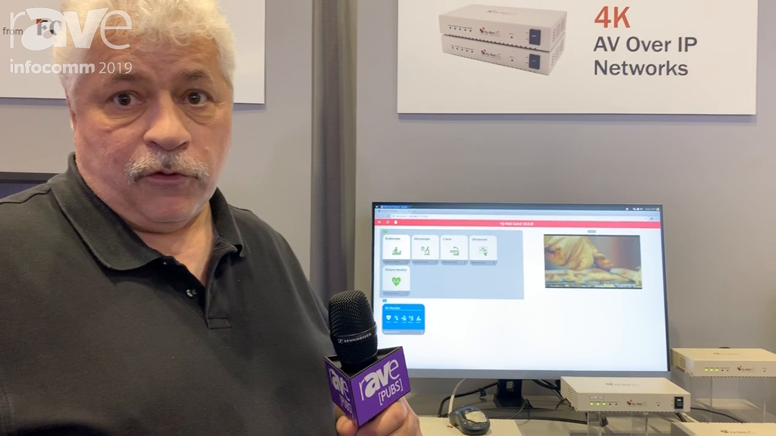 InfoComm 2019: Forseeson Showcases the Ophit 4K Video-Over-IP Product With New Web Interface