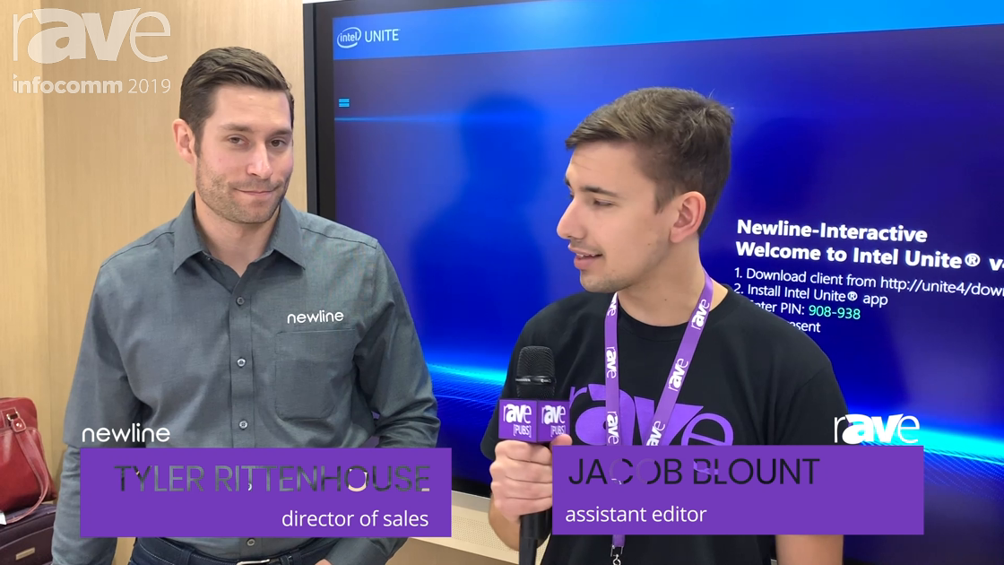 InfoComm 2019: Jacob Blount and Newline's Tyler Rittenhouse Talk About Intel UNITE Partnership
