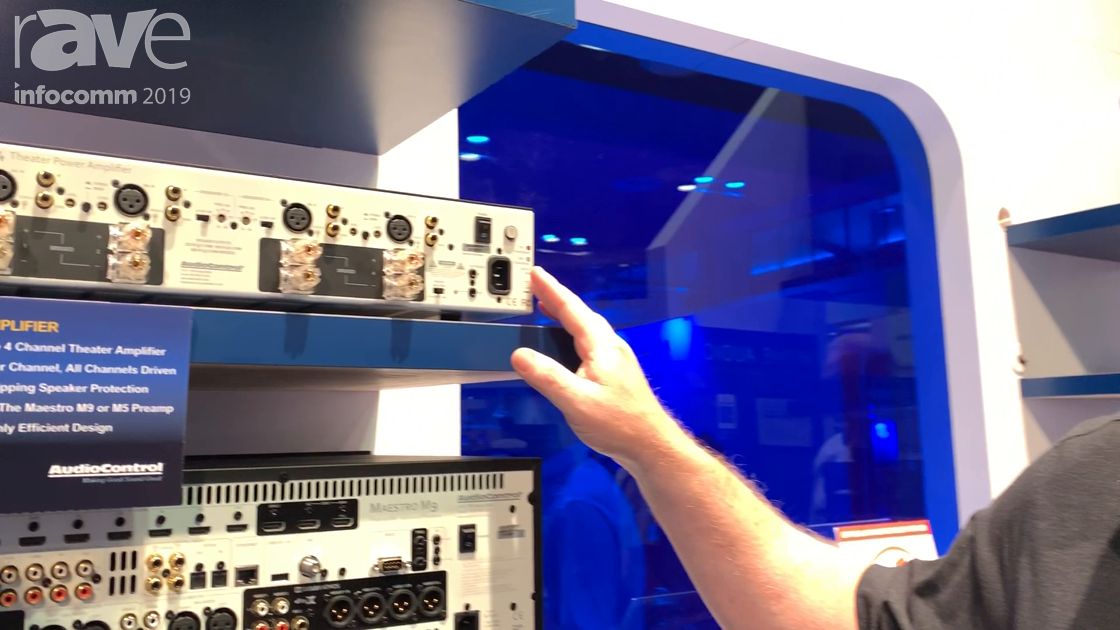 InfoComm 2019: AudioControl Intros Uniquely Flexible Avalon G4 Power Amplifier