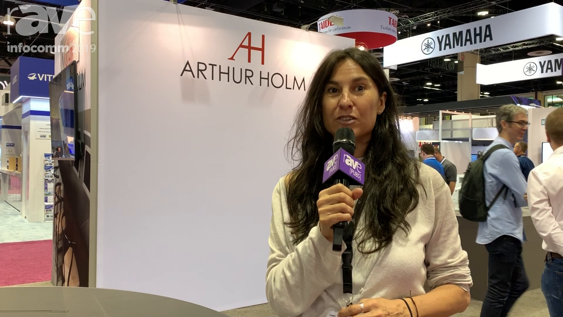 InfoComm 2019: Arthur Holm Shows DynamicTalk UnderCover Motorized Universal Lift for Gooseneck Mics