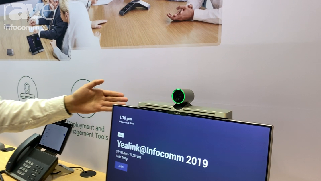 InfoComm 2019: Yealink Shows VC200 All-in-One Videoconferencing Device With Emebedded Microsoft Team