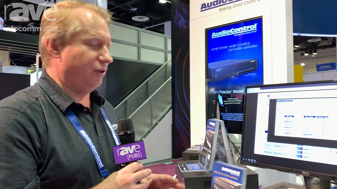 InfoComm 2019: AudioControl Adds Signal Detection Switching (SDS) to Director Series Amplifiers