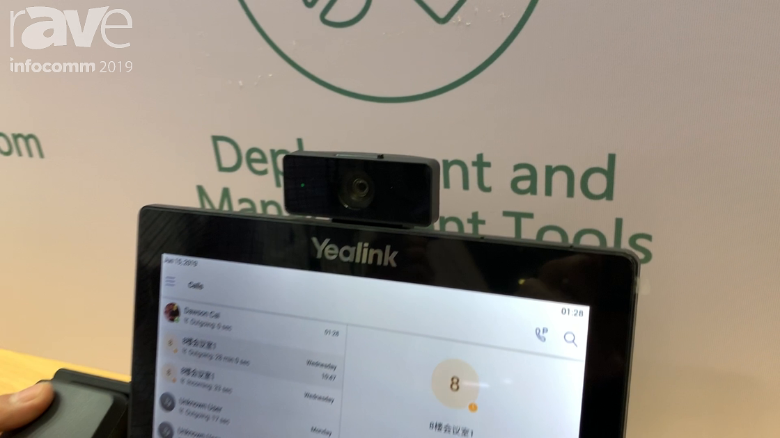 InfoComm 2019: Yealink Highlights the New VP59 Video Phone With Microsoft Teams Support