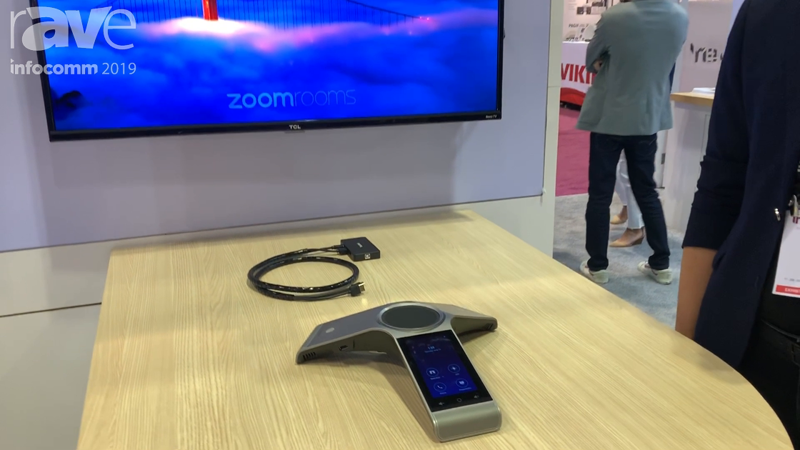 InfoComm 2019: Yealink Showcases Easy-to-Use Video Room Kit for Zoom Rooms