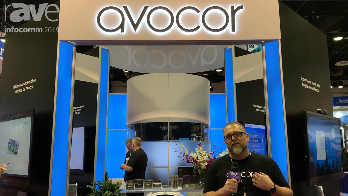InfoComm 2019: Avocor Features Windows Collaboration Display Kits, Crestron DM-NVX Endpoint