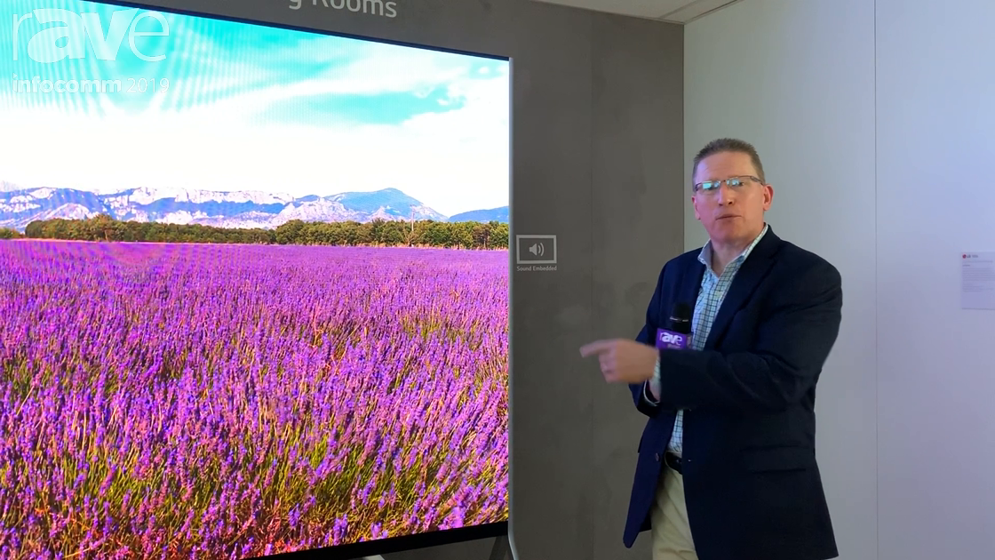 InfoComm 2019: LG Unveils a 130″ All-In-One Direct View LED With Embedded Sound
