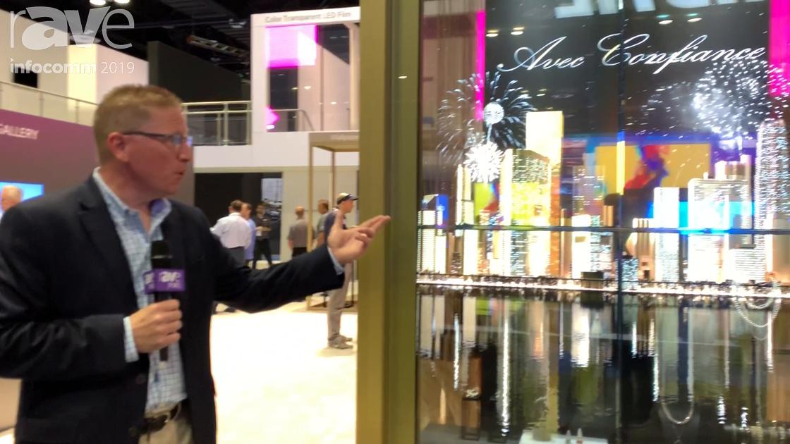 InfoComm 2019: LG Shows Off Its Transparent OLED Display