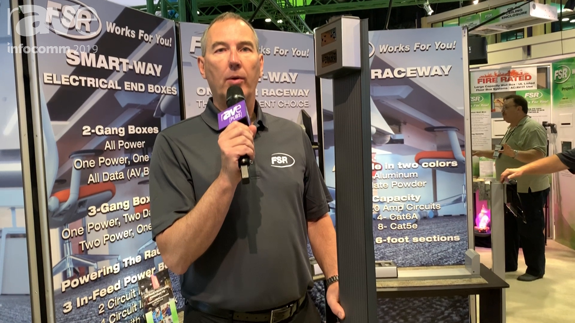 InfoComm 2019: FSR Introduces Smart-Way Stick, a Fast and Easy Way to Run Power and Low Voltage