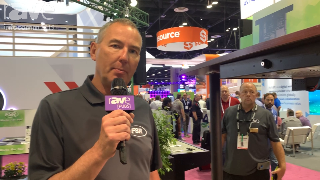 InfoComm 2019: FSR Adds Gray Wire Marshall to Concertto Collection Under Table Wire Management