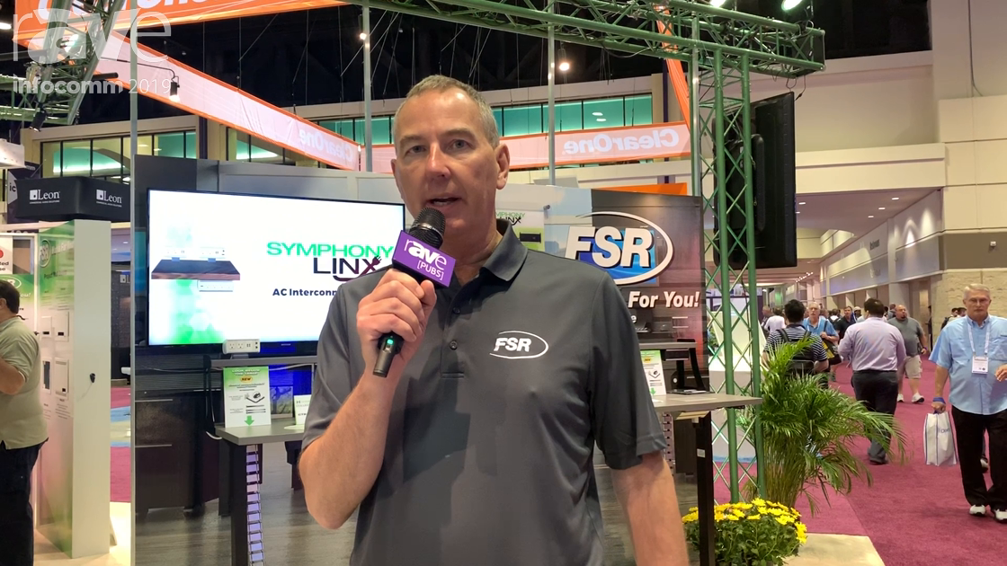 InfoComm 2019: FSR Intros the New Smart-Way Floor Raceway