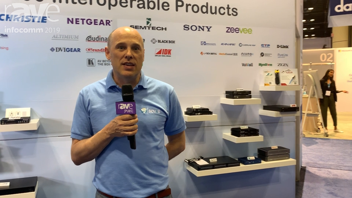 InfoComm 2019: SDVoE Alliance Brings a Standardized Approach to Matrix Switch Distribution Over 10G