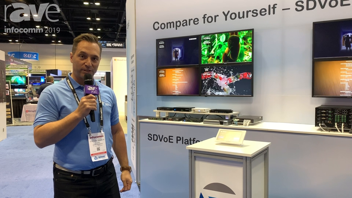 InfoComm 2019: SDVoE Alliance Compares Its Platform to a Conventional Matrix Switch