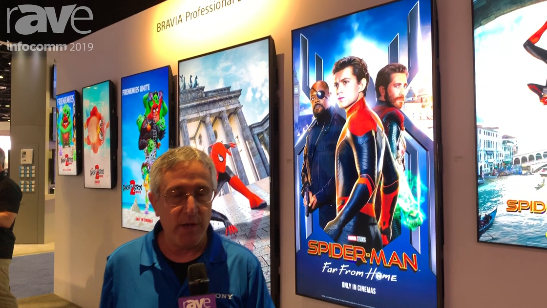 InfoComm 2019: Sony Shows BZ35F Lineup of BRAVIA Professional Displays, Demos in Meeting Solution
