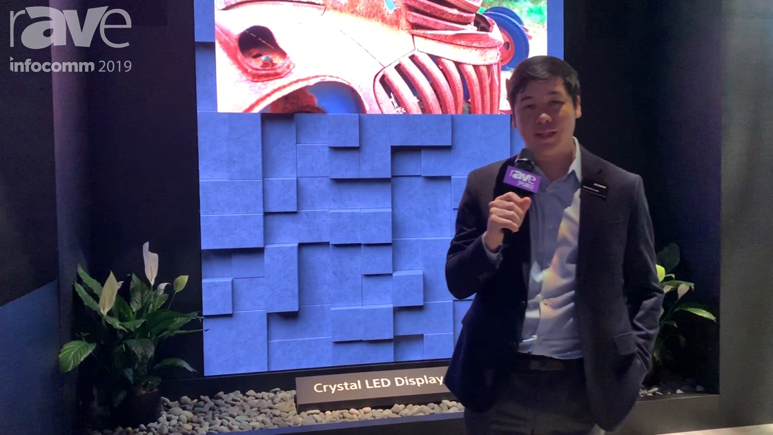 InfoComm 2019: Sony Demos Its CLED (Crystal LED) Modular Direct View LED Display