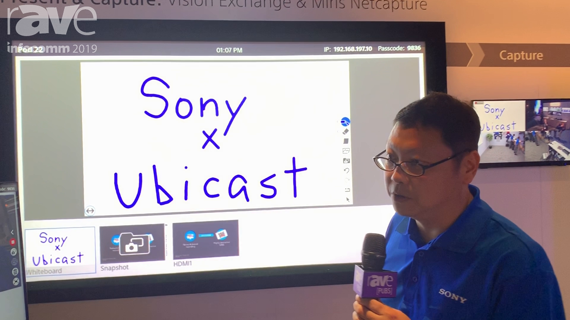 InfoComm 2019: Sony Shows Ubicast Interactive Video Solution in Classroom Application