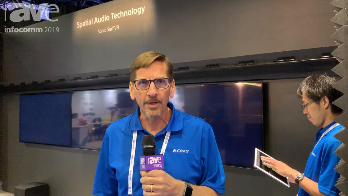 InfoComm 2019: Sony Demos Sonic Surf VR, a Spatial Audio Technology