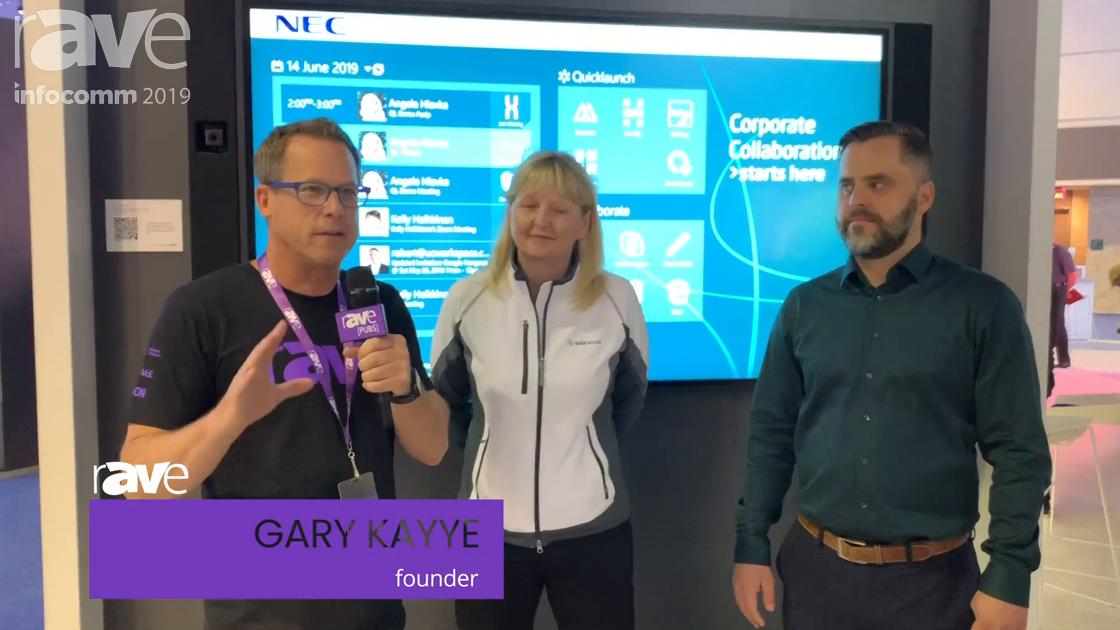 InfoComm 2019: UCWorkspace's Angela Hlavka & NEC Display's Gunnar Kyvk Talk New Platinum Partnership