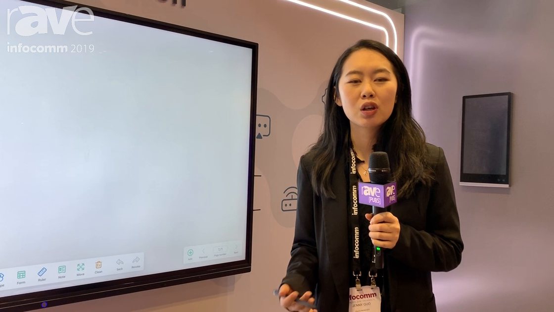 InfoComm 2019: CVTE Presents a New Interactive Touch Panel for Education Applications