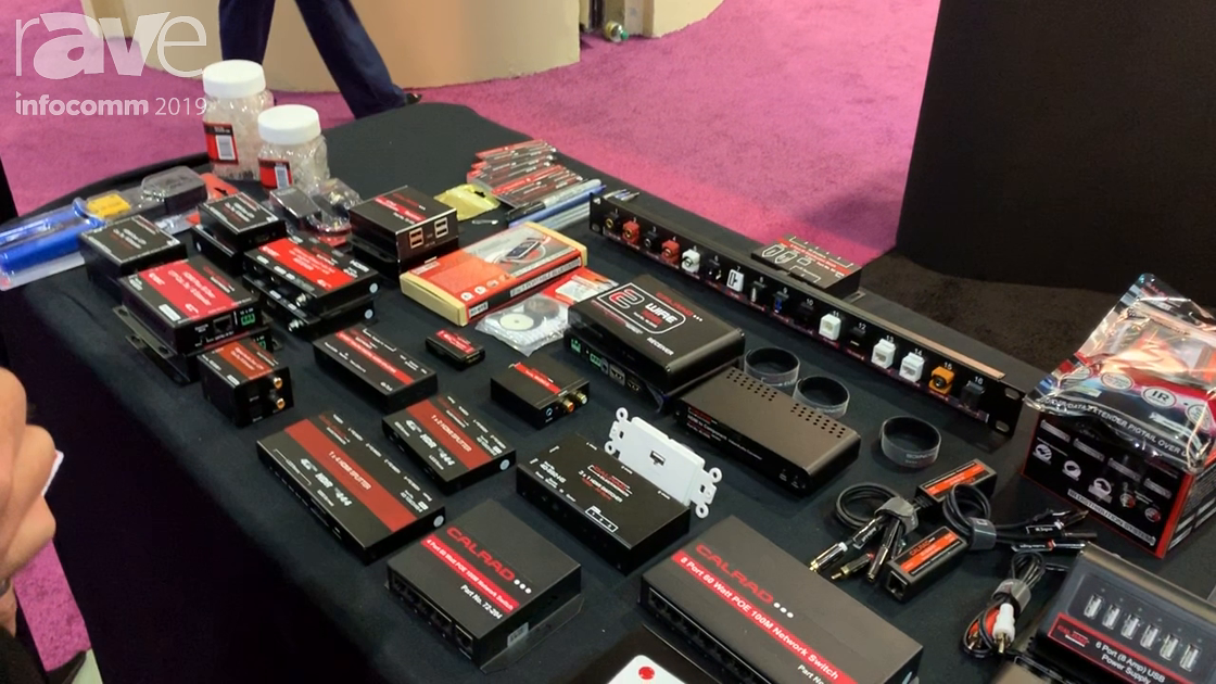 InfoComm 2019: Calrad Electronics Showcases Its Video Balun Technology