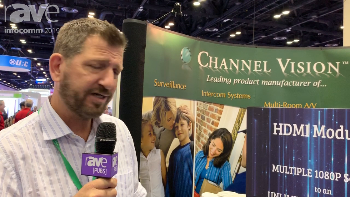 InfoComm 2019: Channel Vision Technology Features A0360 In-Wall Amplifier and Bluetooth Streaming