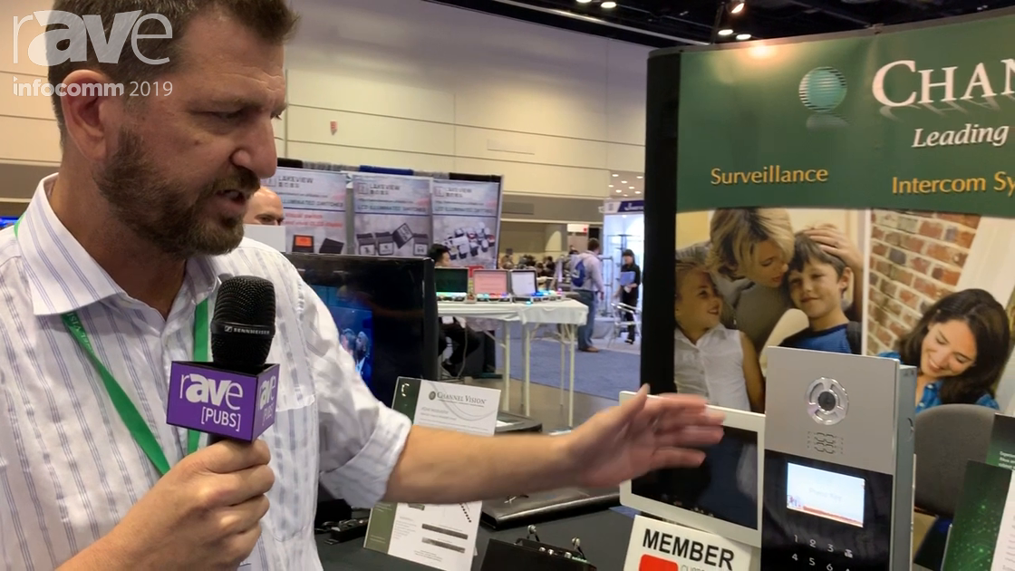 InfoComm 2019: Channel Vision Technology Shows SIM8302 Intercom for Apartments