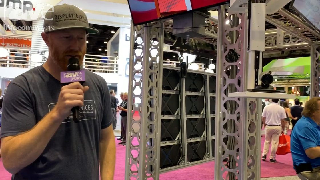 InfoComm 2019: Display Devices Shows Off Its Tried and True Camera Lift