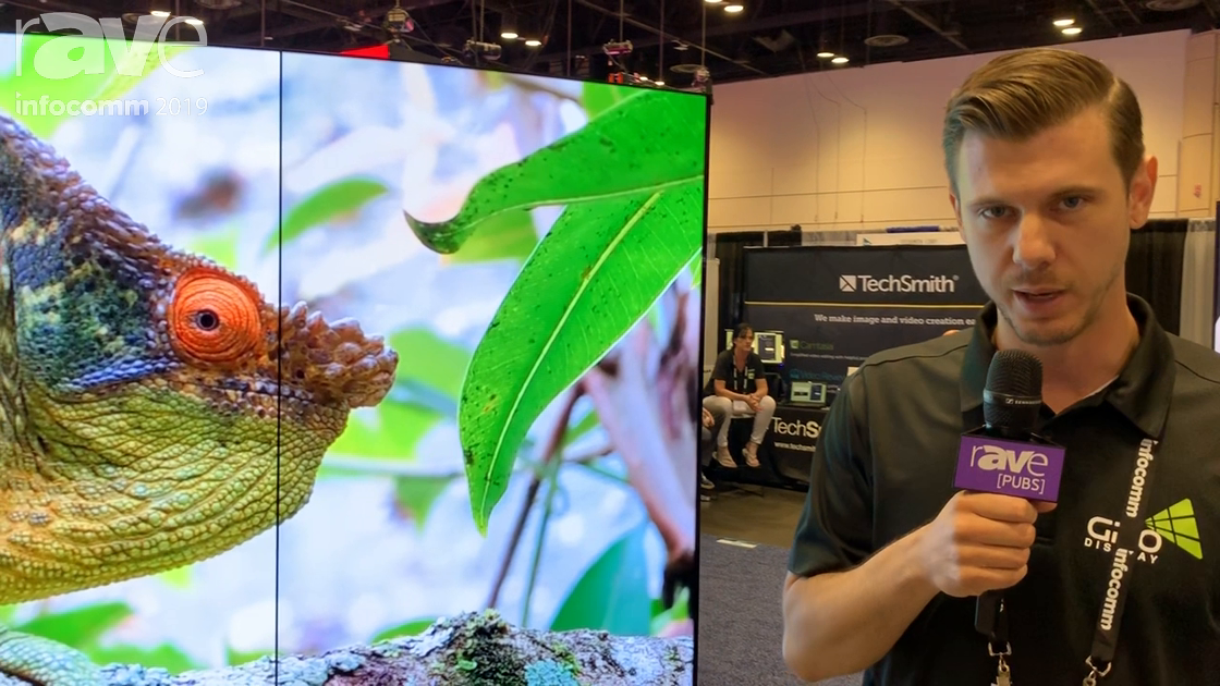 InfoComm 2019: GPO Display Presents Its Curved OLED Video Wall Display With 1000R Curvature