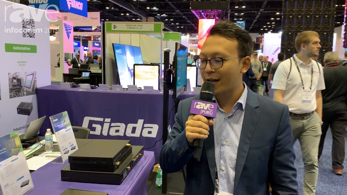 InfoComm 2019: Giada Technology Offers DM6 Digital Signage Player With Four HDMI Outputs