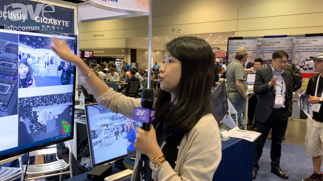 InfoComm 2019: GigaIPC Features Its Smart Marketing Camera for Digital Signage Audience Analytics